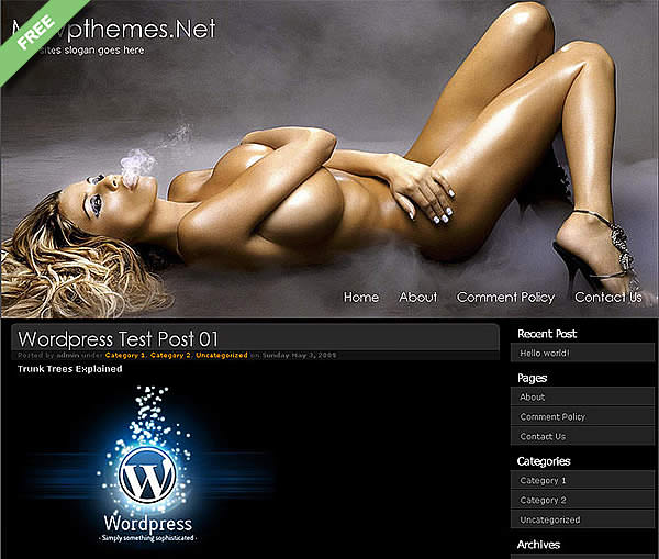 escort wordpress theme free download
