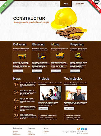 free Joomla!3 - Template Constructor