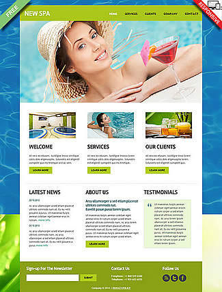 free Joomla!3 - Template New SPA
