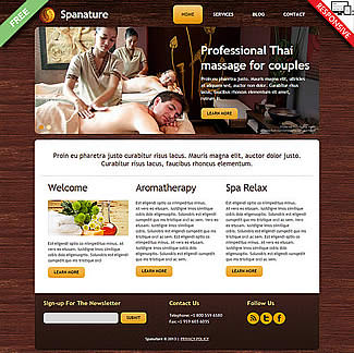 free Joomla!3 - Template SPAnature