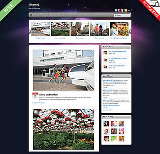 free WordPress Theme iTheme2